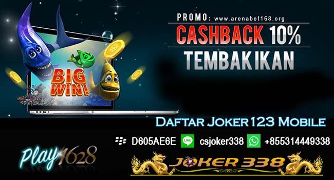 DAFTAR JOKER123 MOBILE